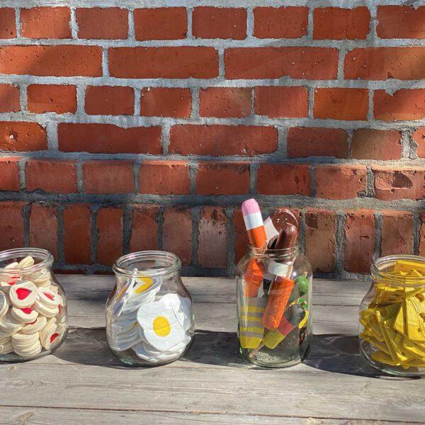 Deko Spielküche aus der sbr gGmbH Holzwerkstatt