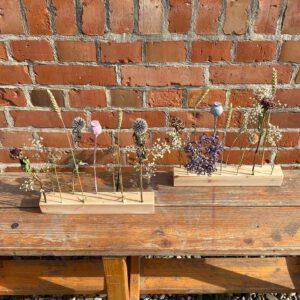 Trocken- und Strohblumen Deko aus der sbr gGmbH Holzwerkstatt