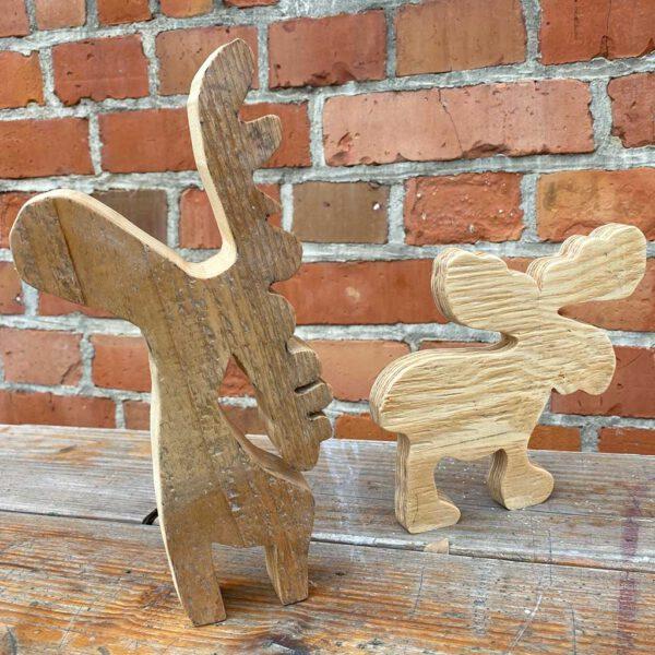 Elche Deko aus der sbr gGmbH Holzwerkstatt