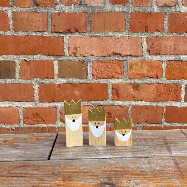 Heilige drei Koenige Deko aus der sbr gGmbH Holzwerkstatt