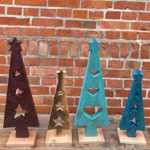 Weihnachtsbaum Deko aus der sbr gGmbH Holzwerkstatt