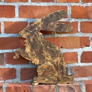Hase aus der sbr gGmbH Holzwerkstatt